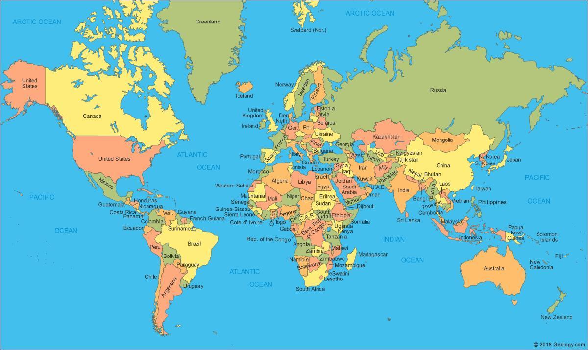 Malezija Karta Karta Svijeta Malezija Lokacija Na Karti Svijeta
